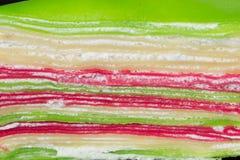 Gâteau coloré de fond photos libres de droits