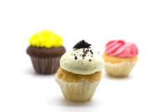 Gâteau coloré de tasse Photo stock