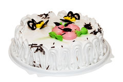 Gâteau crème Photo stock