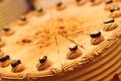 Gâteau crème savoureux Image libre de droits