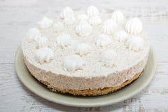 Gâteau crémeux Image libre de droits