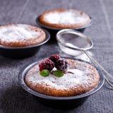 Gâteau cuit au four par bonbon Photos libres de droits