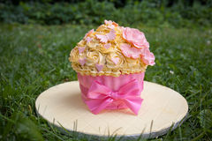 Gâteau décoré Images libres de droits