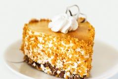 Gâteau décoré de la crème Image stock