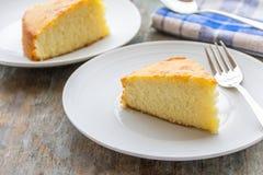 Gâteau découpé en tranches Photo libre de droits
