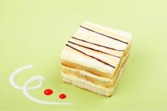 Gâteau délicieux Images stock