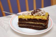 Gâteau délicieux Photos stock