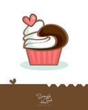 Gâteau délicieux Illustration de Vecteur