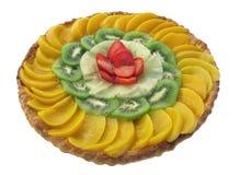Gâteau délicieux avec le fruit frais photographie stock