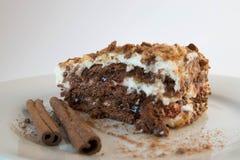 Gâteau délicieux de biscuit Images stock