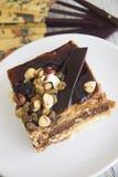 Gâteau délicieux de choco Photographie stock libre de droits