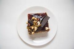 Gâteau délicieux de choco Photographie stock