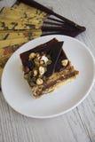 Gâteau délicieux de choco Images libres de droits