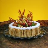 Gâteau délicieux de dessert Photographie stock libre de droits