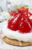 Gâteau délicieux de fraise Image stock