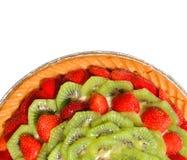Gâteau délicieux de fruit Image libre de droits