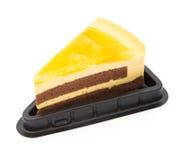Gâteau délicieux de sandwich Photos libres de droits