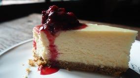 Gâteau d'échecs de myrtille Image stock