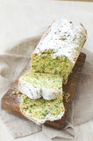 Gâteau d'épinards Photo libre de droits