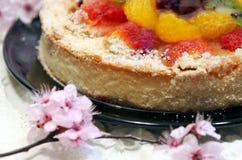 Gâteau d'été Photos stock