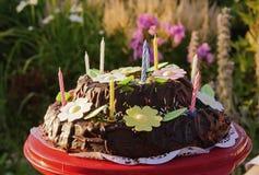 Gâteau d'été Photo libre de droits