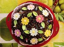 Gâteau d'été Photos libres de droits