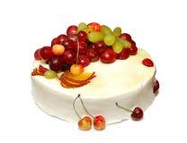 Gâteau d'été photographie stock libre de droits