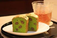 Gâteau d'or Image libre de droits