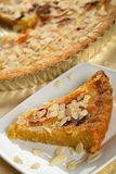 Gâteau d'abricot Photos stock