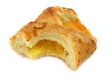 Gâteau d'abricot de pâtisserie française photo libre de droits