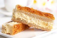 Gâteau d'amande photos stock