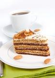 Gâteau d'amande photos libres de droits