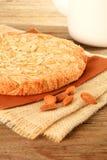 Gâteau d'amande Photographie stock libre de droits