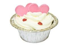 Gâteau d'amour Photographie stock