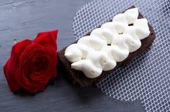 Gâteau d'amour Images libres de droits