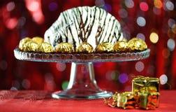Gâteau d'anniversaire. Photographie stock libre de droits