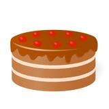 Gâteau d'anniversaire. illustration libre de droits