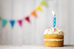 Gâteau d'anniversaire Image libre de droits