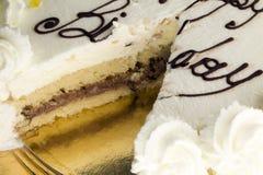 Gâteau d'anniversaire pour la partie Image libre de droits