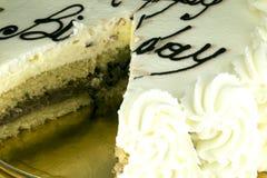 Gâteau d'anniversaire pour la partie Photo libre de droits
