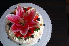 Gâteau d'anniversaire pour mes 26 Images libres de droits
