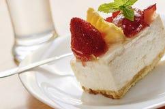 Gâteau d'après-midi Image libre de droits