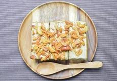 Gâteau d'arachide et de noix de cajou Photographie stock libre de droits
