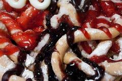 Gâteau d'entonnoir Image libre de droits