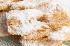 Gâteau d'entonnoir Photographie stock