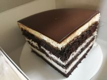 Gâteau d'indulgence image stock