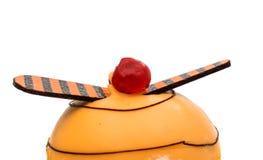 gâteau d'isolement Photographie stock libre de droits