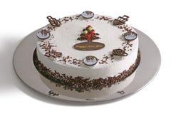 Gâteau d'an neuf Images libres de droits