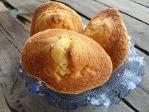 Gâteau d'oeufs Photographie stock
