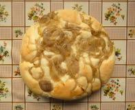 Gâteau d'oignon Image libre de droits